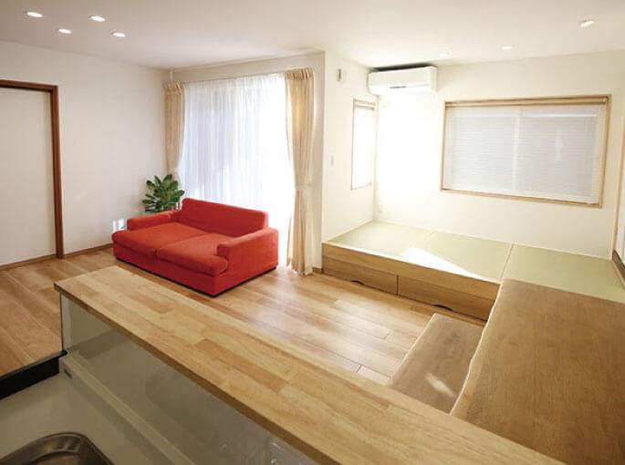 将来も安心して過ごせるような空間設計。